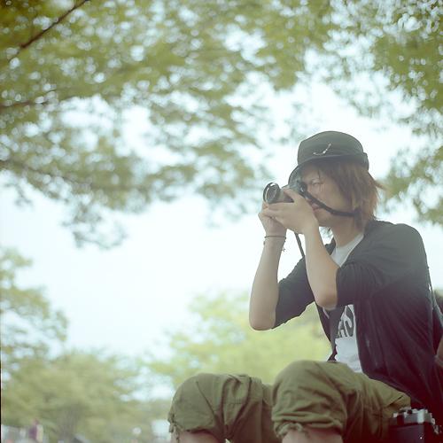 Rolleiflex Xenotar 2.8f × Kodak PORTRA 160NC